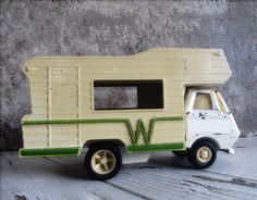 Vintage Tonka Winnebago RV Camper  Who wouldn't love this under the tree this year!