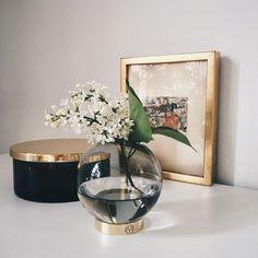 AYTM Globe Vas S Smoke -- ønsker mig disse smukke assecories