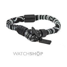Icon Brand Base metal High Society Bracelet LE1119-BR-BLK
