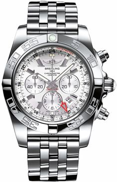 New Breitling Chronomat 41 Automatic Chronograph Watch Low Everyday Prices Men's Watches, Breitling Watches, Luxury Watches, Cool Watches, Watches For Men, Popular Watches, Citizen Watches, Black Watches, Men Accessories