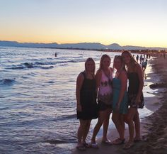 This was in Spain, with my friends this summer. (salou)