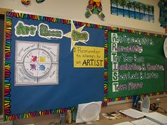 """clever """"Art Room Rules"""""""