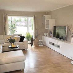 living room layout ideas for your dream house Living Room Tv, Small Living Rooms, Living Room Interior, Home And Living, Living Room Designs, Interior Design, Design Design, Interior Inspiration, Home Decor