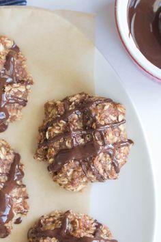 Banana oat vegan cookies   |   One Ingredient Chef