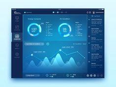 Smart Home System UI design