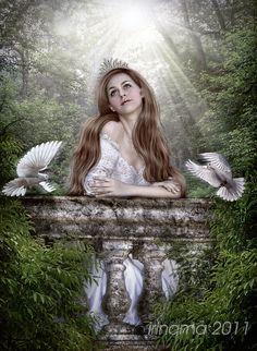 Fairytale princess by irinama.deviantart.com on @DeviantArt
