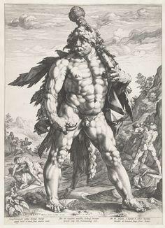 De grote Hercules, Hendrick Goltzius, 1589