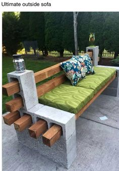 DIY-Outside sofa