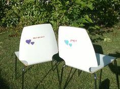 #thecreativefactory #handmadespring2016 - Come decorare le sedie: idee per colorare la casa | genitorialmente