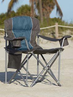 Amazon Com Big Amp Tall Folding Camp Chair Super Strong