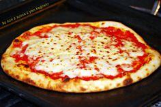 Pizza bassa con lievito madre. Dose per 2 abbodante - 5h - possibile congelare o prepare in anticipo