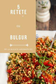 5 recettes avec Bulgur - Colecții - # Colecții # RECIPES, 5 recettes avec Bulgur - Co . Tzatziki, Cold Vegetable Salads, Valeur Nutritive, Fast Food, Chana Masala, Food And Drink, Vegetarian, Dishes, Vegetables