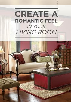 Cozy And A Little Bit Spicy, Red Rooms Can Create A Romantic Feel In Your. Living  Room Paint ColorsLiving Room ImagesInterior PhotoBehr ...