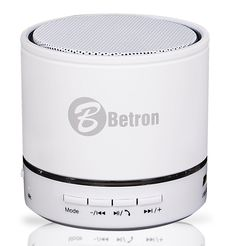 Bluetooth Portable Travel Speaker For Iphone 6, 5s, 5c, iPod, iPad , Android Phones and MP3 Players (White): Amazon.co.uk: Electronics