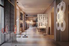 Foscarini Spazio Brera, Milan – New setting up | Basil Green Pencil