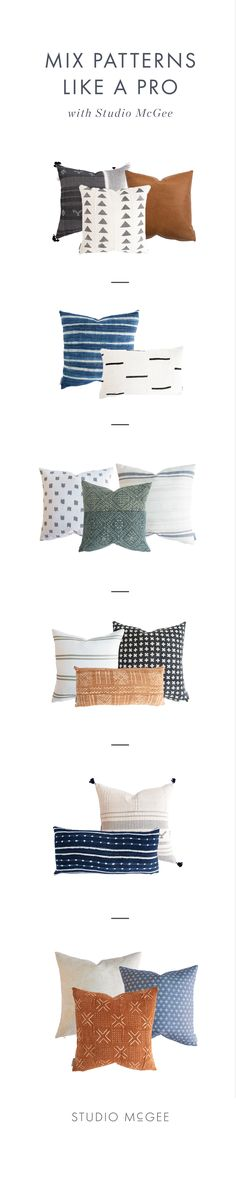 How to Mix & Match Pillows Like a Pro (With Our New Vintage Pillows!) — STUDIO MCGEE