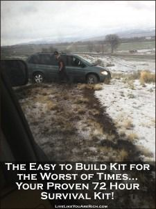 Great DIY for assembling 72 hour kits essential for any emergency.