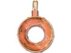 Patricia Healey Copper Donut Bezel Charm