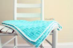 Springtime Baby Crochet Blanket
