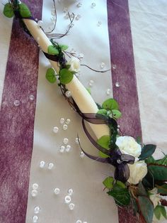 Tischdekoration für ca. 60 Pers. lila zur Hochzeit Tischdeko TD0014 Niklas, Weeding, Decoration, Counting, Tea Party, Bouquet, Floral, Table, Rustic Wedding Decorations