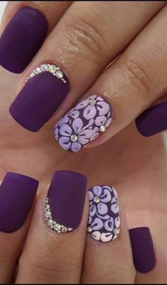 Floral ring Finger with diamonds Just Amazing!★★★★★