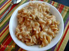 Salsa Mac and Cheese - #glutenfree #vegan - Vegetarian Mamma