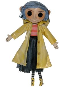 "NECA Coraline Doll, 10"": Amazon.co.uk: Toys & Games"