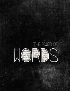 the+power+of+words