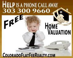 #DenverRealEstate Get a free home valuation http://coloradoflatfeerealty.com/DenverHomeValuationsite