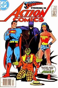 Cover for Action Comics #565 (1985)