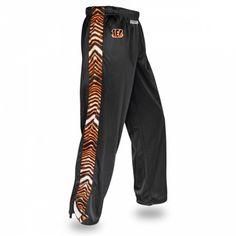 NFL Officially Licensed Cincinnati Bengals Zebra Print Stadium Pant