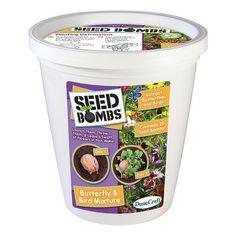 Dunecraft Butterfly & Bird Mixture Seed Bomb Bucket, Multicolor