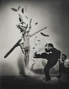 """perfect for monday Dali thanks sealmaiden """"The Cosmic Dali"""". From a series of photographs by Philippe Halsman, designed by Dali, 1948 Karl Blossfeldt, Robert Doisneau, Magnum Photos, Portraits, Portrait Photographers, Famous Photographers, L'art Salvador Dali, Spencer Tunick, Herbert List"""