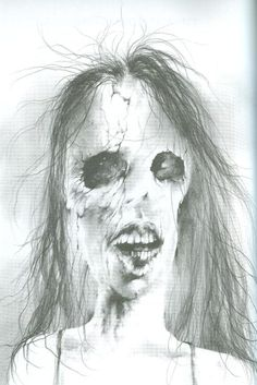"""Old, soon-to-be-unused art from """"Scary Stories to Tell in the Dark."""""""