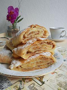 I dalje kod Nely / Donut Recipes, Cooking Recipes, Serbian Recipes, Vitamin E, Donuts, French Toast, Deserts, Food And Drink, Apple Cakes