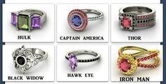avengers engagement ring