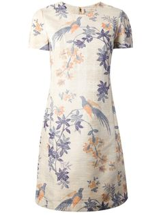 Dress TORY BURCH  #inthegarden #flowers #trend #woman à#apparel #accessories #style #fashion #spring #summer #collection #toryburch