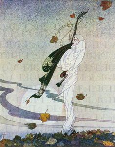 Unusual Kay NIELSEN Poirot. V Nielsen was proposed to illustrated the original TLM.