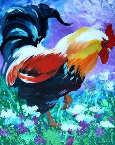 Rooster  by Tetiana Gorbachenko