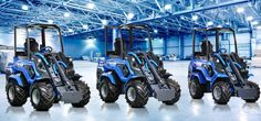 The New Series are all new MultiOne creations based on the strengths of the most successful multipurpose mini loaders: powerful by nature, of superior performance and superb design. Small Tractors, Makita, New Series, Lineup, Motors, Monster Trucks, Landscaping, Marketing, News