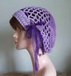 Your place to buy and sell all things handmade Sari Silk, Silk Chiffon, Bohemian Gypsy, Boho, Slouchy Beanie Hats, Crochet Designs, Hats For Women, Warm Weather, Renaissance