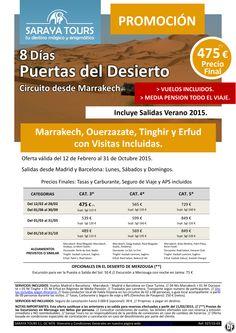 Promo Marruecos Puertas del Desierto 8 días con visitas 475€ Precio Final hasta Oct 2015! ultimo minuto - http://zocotours.com/promo-marruecos-puertas-del-desierto-8-dias-con-visitas-475e-precio-final-hasta-oct-2015-ultimo-minuto-6/