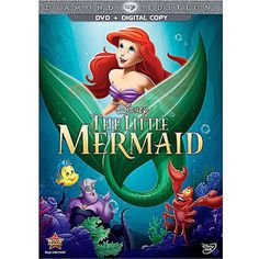 The Little Mermaid: Diamond Edition (DVD + Digital Copy) (Widescreen) $20
