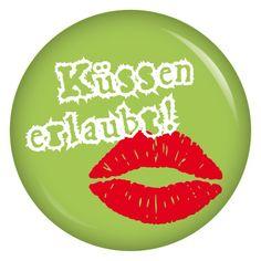 Küssen erlaubt, ohja, aber unbedingt! :)