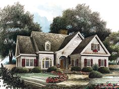 House Plan Walden Stephen Fuller Inc Exteriors and