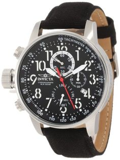 """Invicta Men's 1512 I """"Force"""" Collection Stainless Steel and Cloth Strap Watch Invicta,http://www.amazon.com/dp/B005FMZVLQ/ref=cm_sw_r_pi_dp_x.Mztb1H2K88RMDG"""