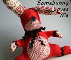 Show and Tell Rabbit - The Sewing Rabbit