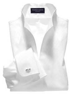 NEED a crisp white shirt with this collar.popped without being pretentious - light green mens shirt, shirt sale, cheap funny shirts *ad Classic White Shirt, Crisp White Shirt, White Shirts Women, Minimal Fashion, Minimal Style, Fashion Black, White Tops, Black White, Shirt Blouses