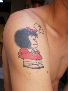 Resultado de imagem para Mafalda tattoo