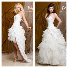 Transformable Wedding Dress: I love this! This would look really cute with cowboy boots! MUST HAVE!!!!! =)